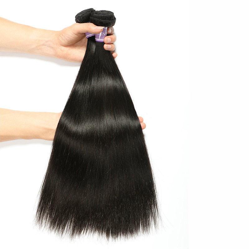top notch SocoosoHairWig 100 straight sleek human hair extensions 3 bundles 8 32 inch plus seamless natu