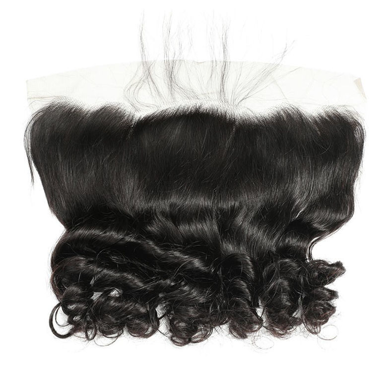 SocoosoHairWig high quality loose wave virgin remy hair weave 3 bundles with 13x4 lace frontal closure