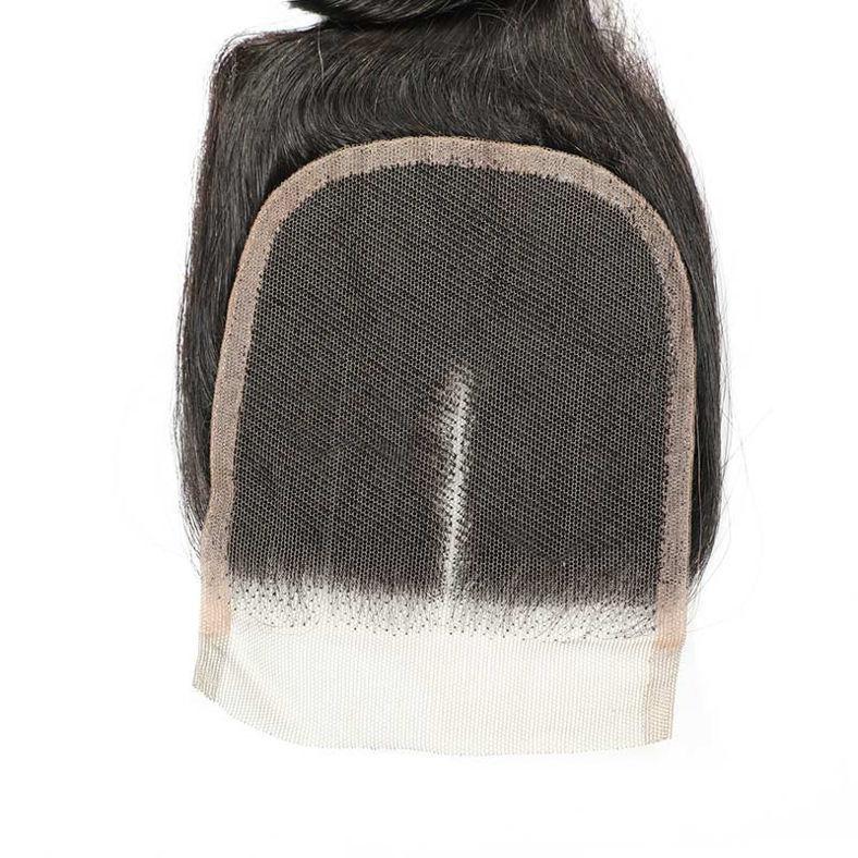 peruvian original virgin human hair 4 wefts plus 1 lace closure 4x4 inch SocoosoHairWig loose wave hair