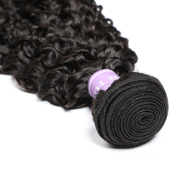 SocoosoHairWig high quality 100 virgin natural wave human hair weft 3 bundles with 13x4 inch lace fronta