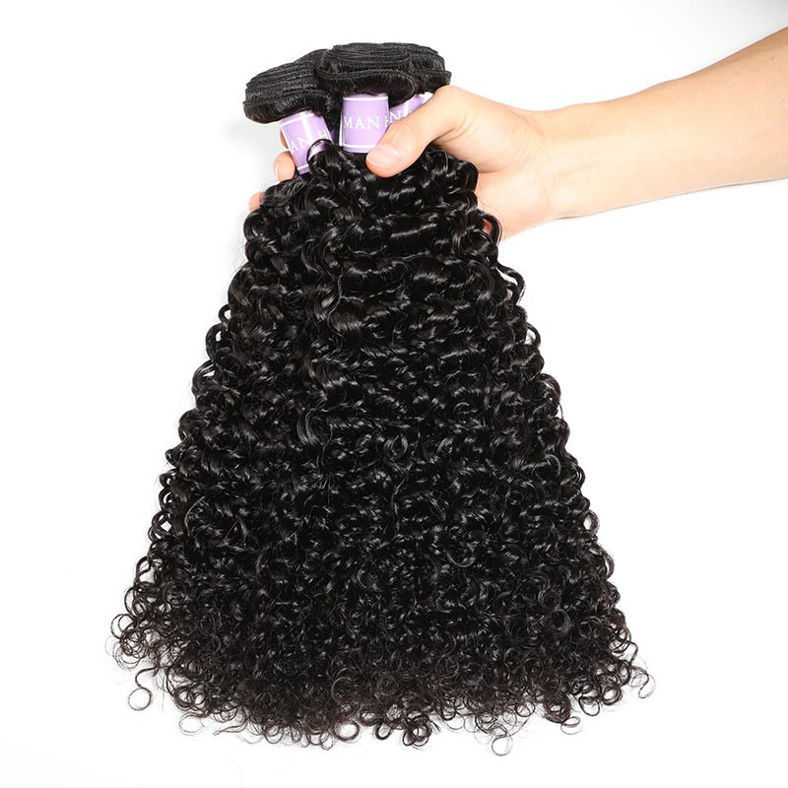 SocoosoHairWig 3 bundles of 100 virgin peruvian curly human hair 1pcs 13x4 inch lace frontal closure