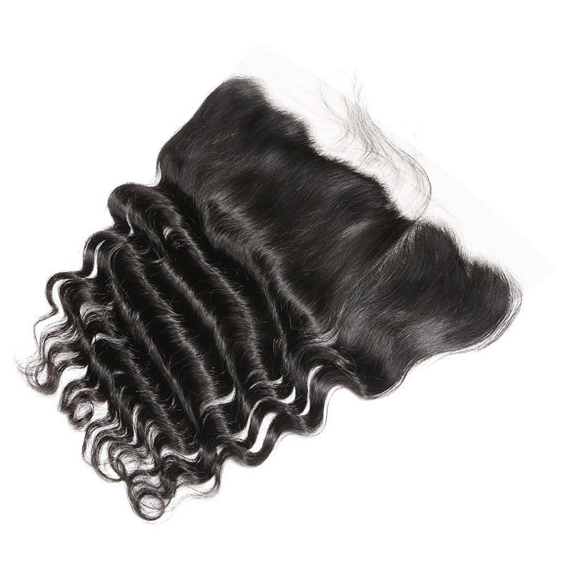 SocoosoHairWig brazilian loose deep wave hair weave 3 bundles with frontal lace closure on sale