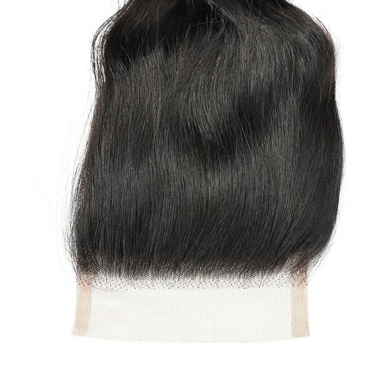 SocoosoHairWig 4 hair weave of loose wave human hair 1 unit remy hair closure