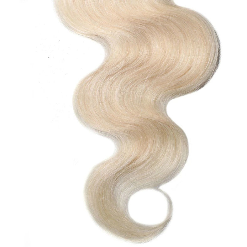 SocoosoHairWig 613 color virgin hair lace closure of 4 by 4 inch body wave