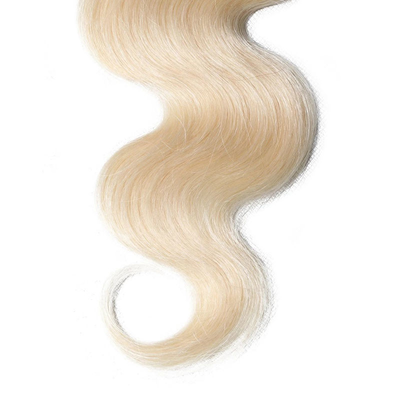 SocoosoHairWig 1pcs 1b613 ombre human hair lace closure of 4x4 inch body wave hair