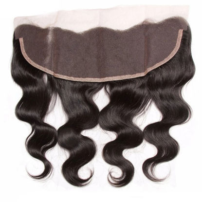 SocoosoHairWig 1pcs 13x4 inch body wave human hair lace frontals of 4 type source