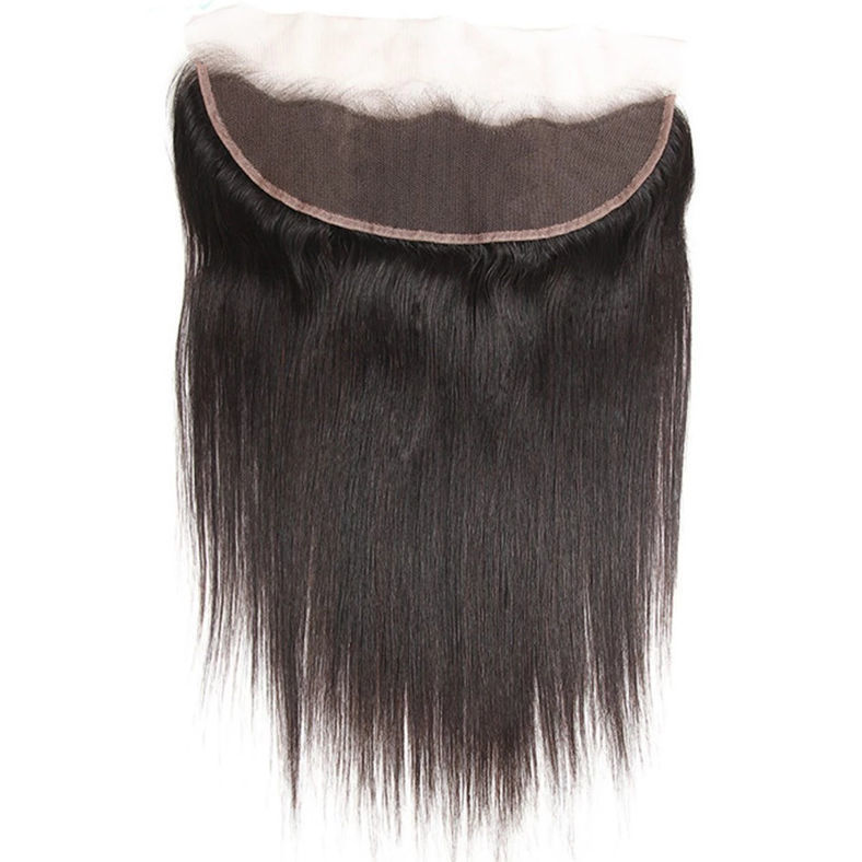 a wigs parts of 13x4 inch ear to ear 1 unit virgin straight human hair lace frontal