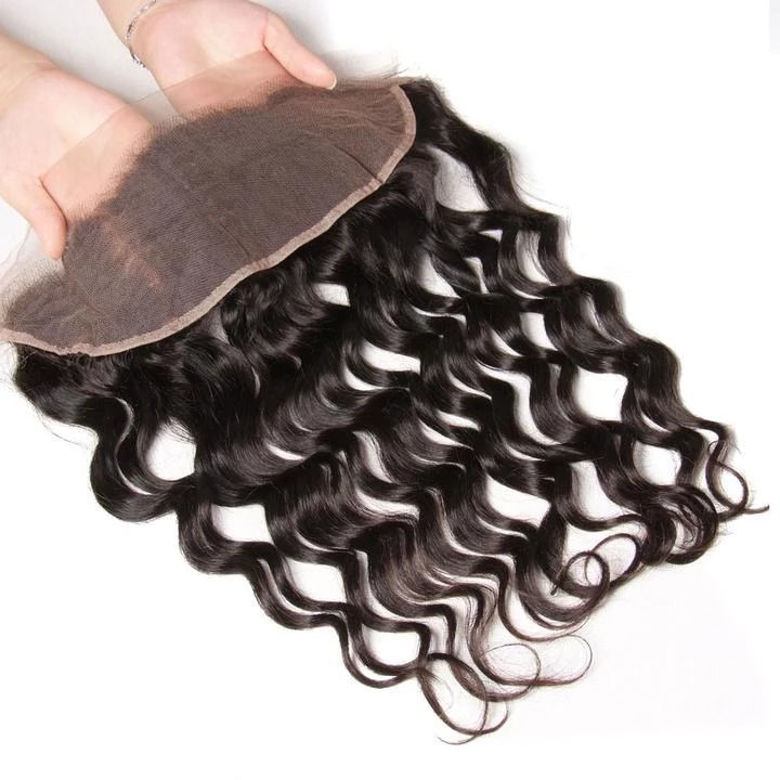 SocoosoHairWig virgin human hair natural wave 13x4 inch lace frontal