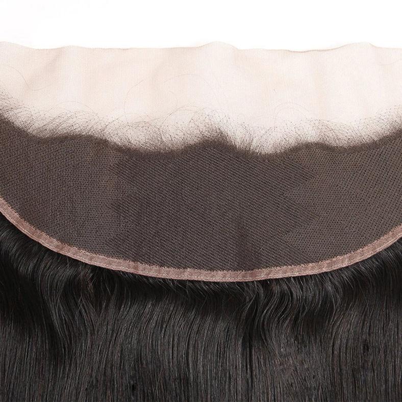 1pcs SocoosoHairWig indian straight virgin hair 13x4 inch lace frontal