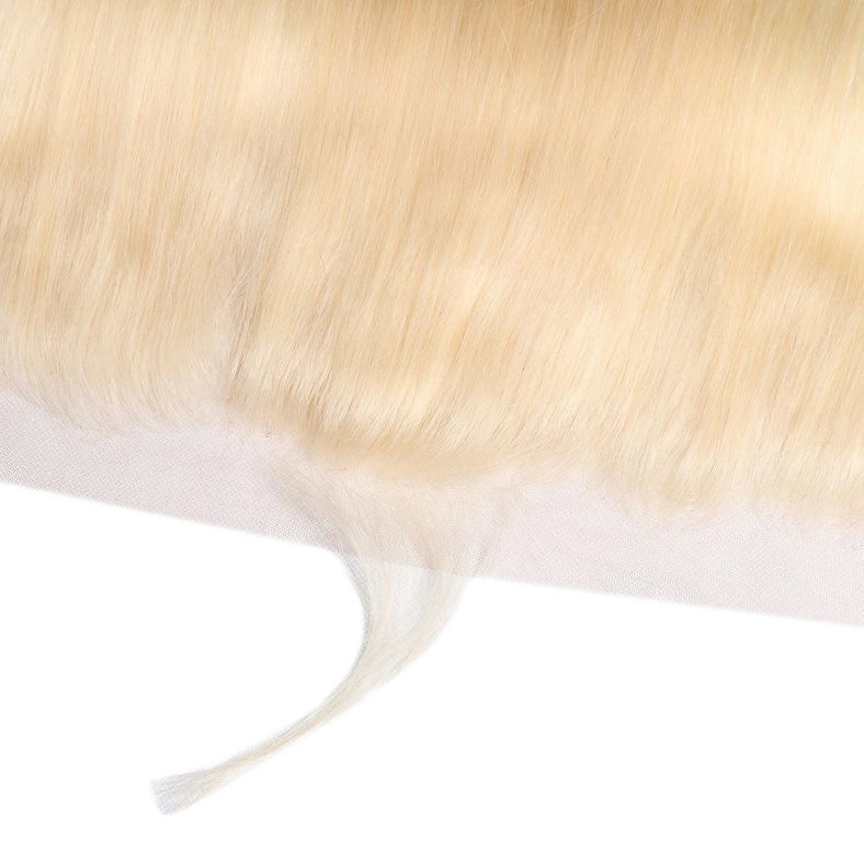 613 colored virgin hair lace closure square 13x4 inch straight hair frontals