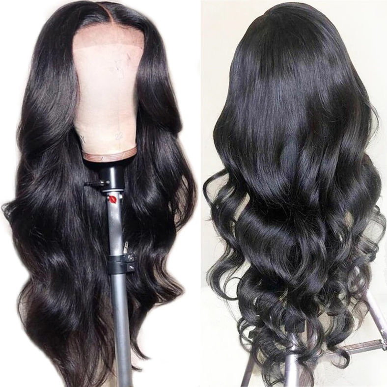 SocoosoHairWig 9a grade remy transparent 13x4 lace front body wave thick human hair wig